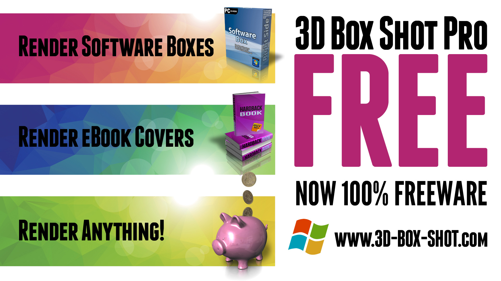 Download a Free Demo of 3D Box Shot Pro