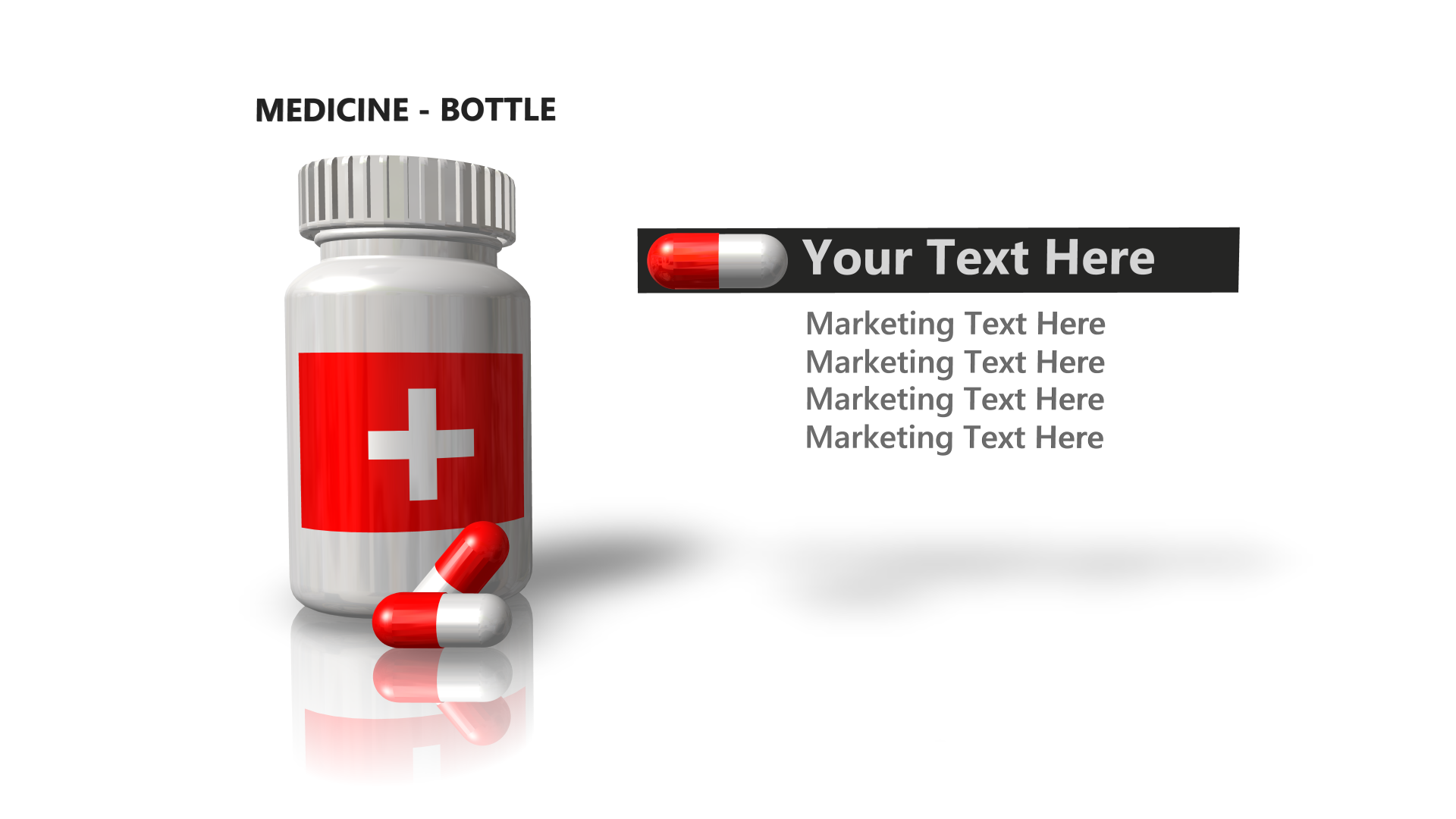 Pharma Marketing Graphics Rendered in 3D Box Shot Pro.