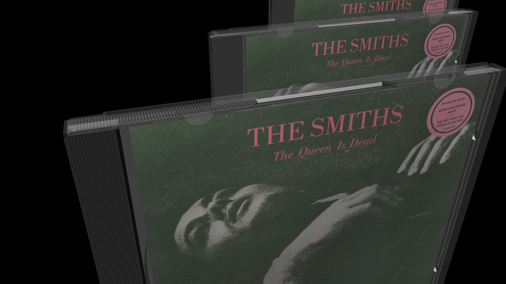 3D Model CD Jewel Cases: The Smiths: The Queen is Dead
